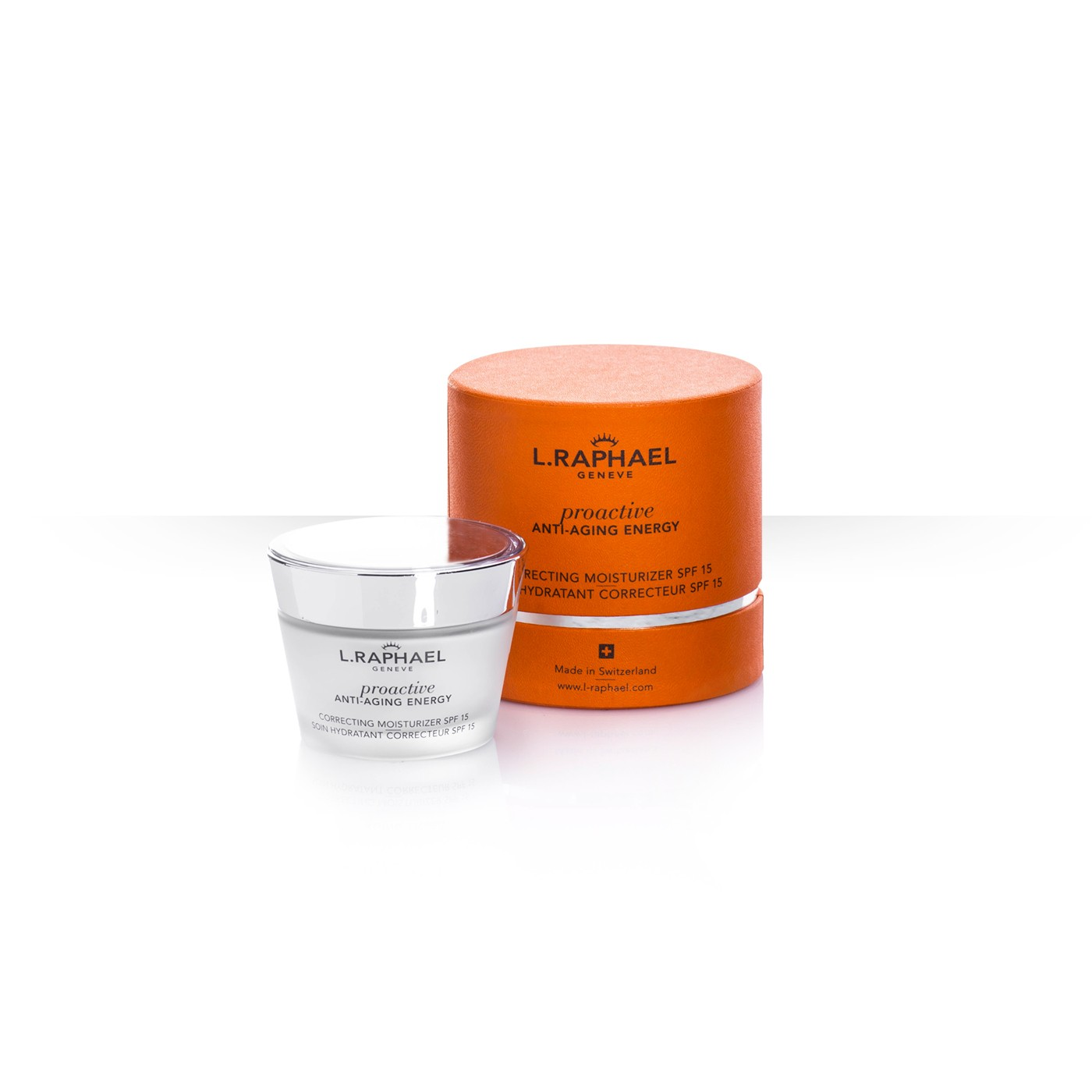 Correcting moisturizer SPF15 (Not available in the USA)